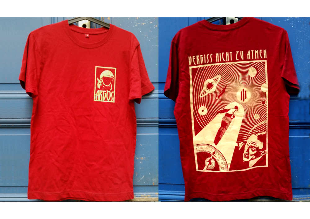 Image of KOSMONAUT T-Shirt Rot