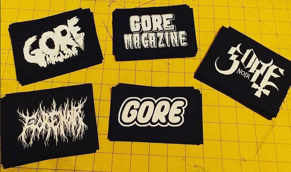 Image of Gore Noir Logo Cloth Patches