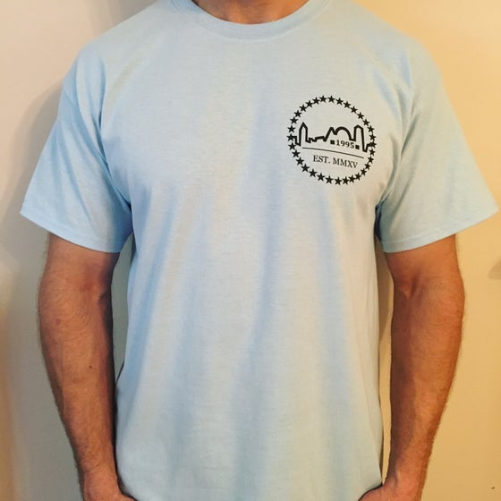Image of Light Blue Logo Tee
