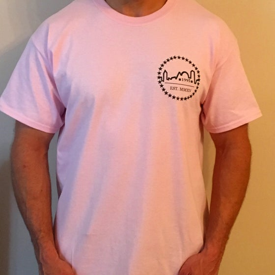 Image of Light Pink Logo Tee