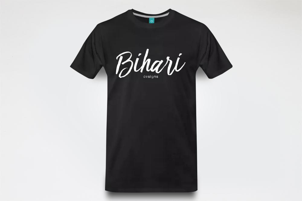 Image of Bihari T-shirt - Black