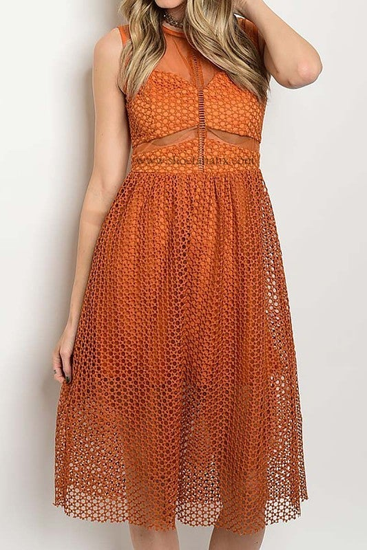 Image of Nita Mesh Dress