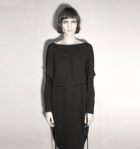 Image of SACRED: INCIRRINA KNOTTED DRESS