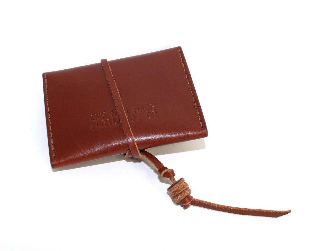 Image of WOBBLE WALLET - BROWN