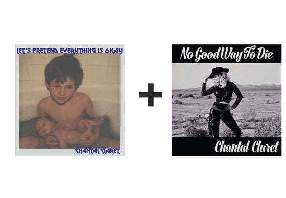 Image of Chantal Claret - Double EP Package
