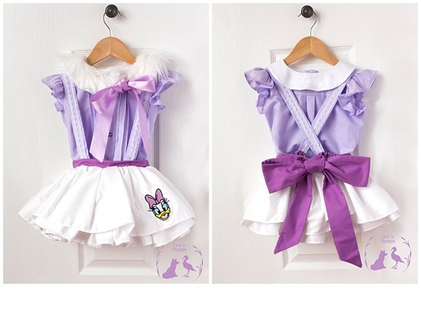 Image of Daisy Duck Samantha set (capelet sold separately)