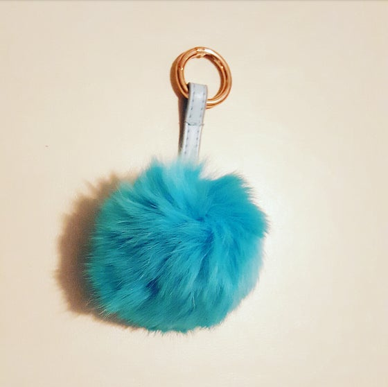 Image of (NEW) Large Rex Fur Poms