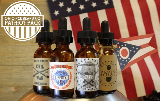 Image of OFBC ***PATRIOT PACK*** Beard Oils