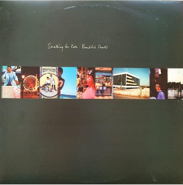 Image of Something for Kate -'Beautiful Sharks'  12 inch vinyl album - original pressing
