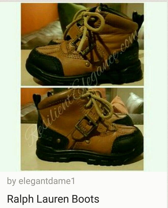 Image of Ralph Laren Boots