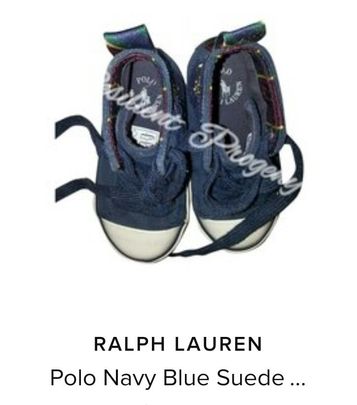 Image of Ralph Lauren Hightop  Sneakers