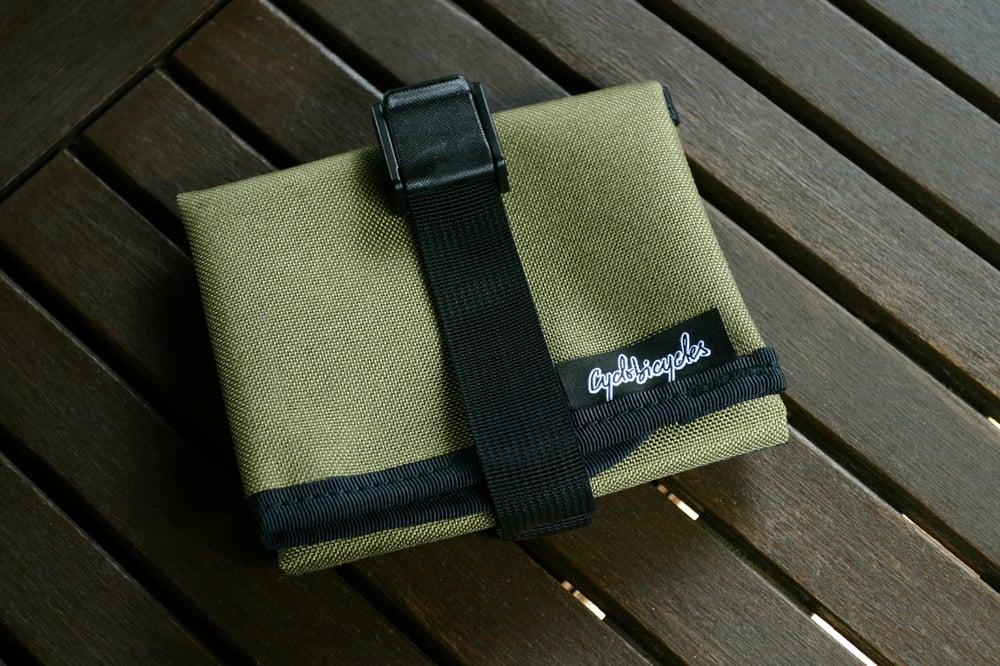 Image of Saddle Tool Roll - Khaky