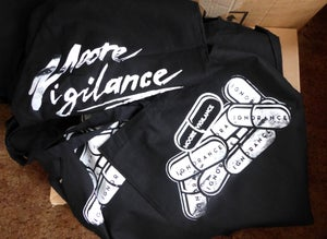 Black 'True Pill' Tote Bag - Moore Vigilance