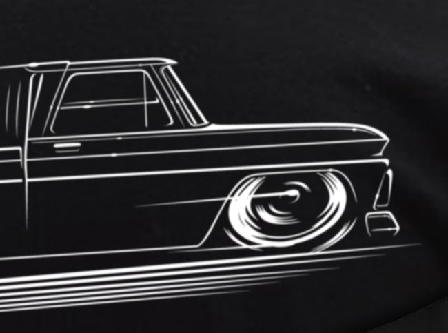 Image of 1st Gen C10 Truck T-Shirts Hoodies Banners
