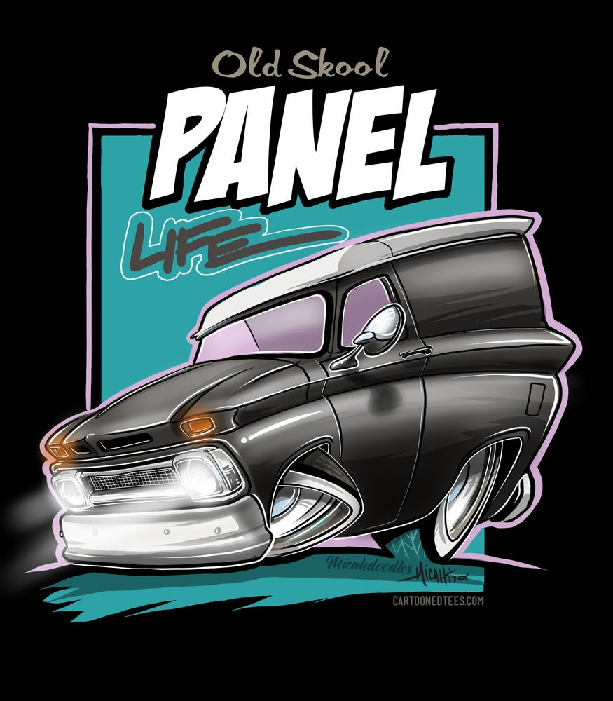 Image of 65 panel life black