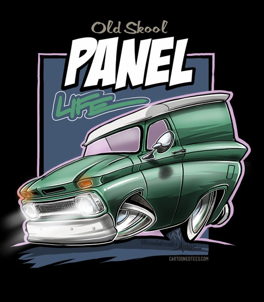Image of 65 panel life green