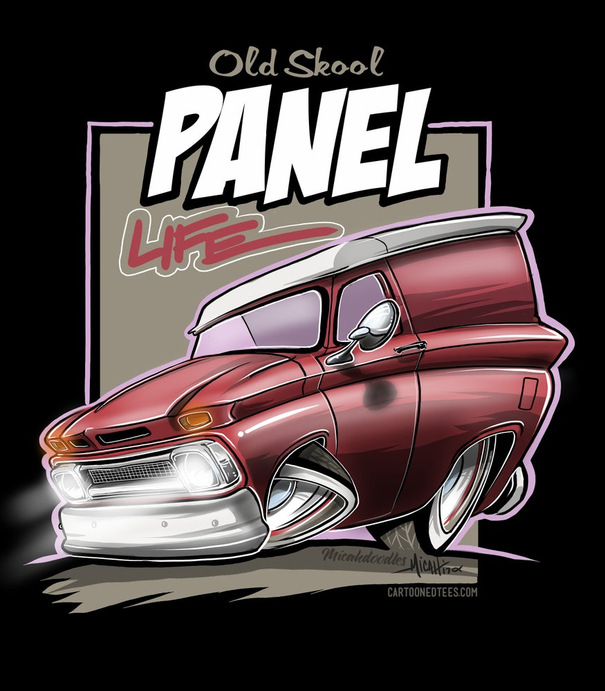 Image of 65 panel life red