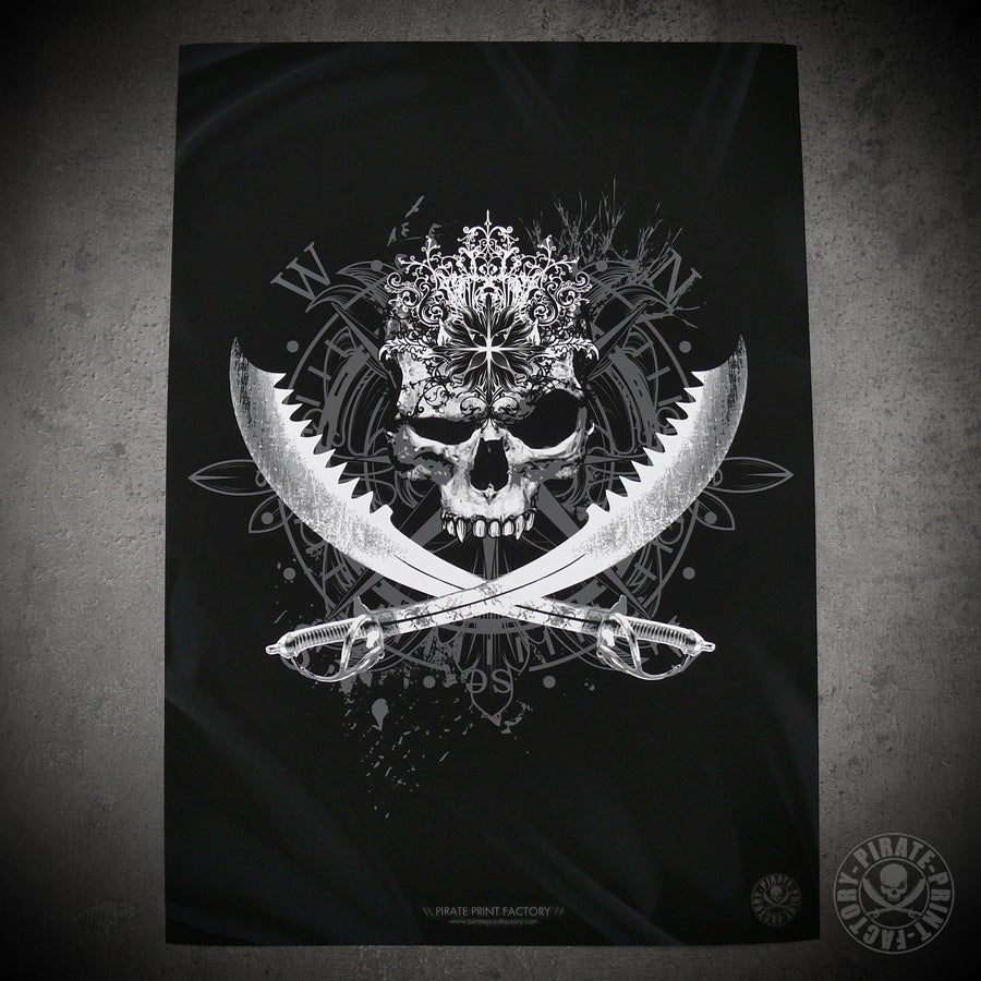 Image of Print Antik Jolly Roger