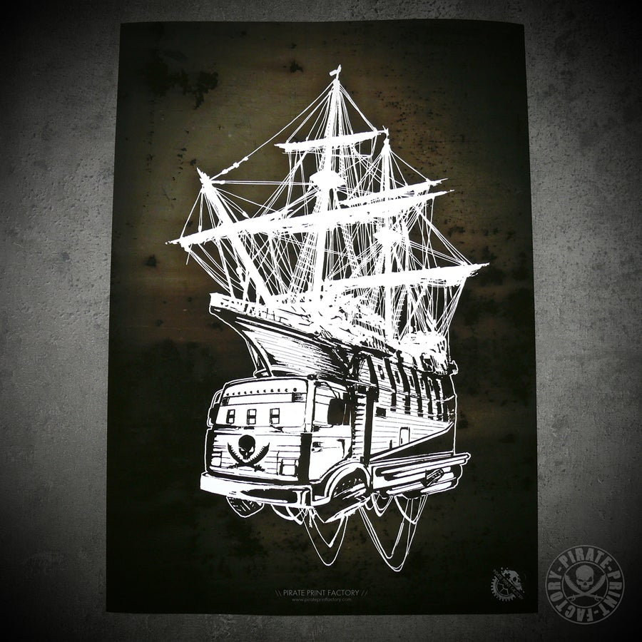 Image of Print Pirate Boat