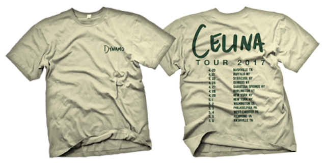 Image of Celina Release Tour 2017 Shirt