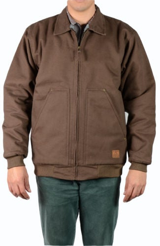 Image of Ben Davis Fleece/Sherpa Lined Jacket (Brown)