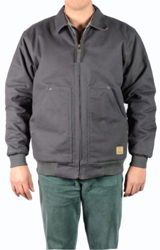 Image of Ben Davis Fleece/Sherpa Lined Jacket (Charcoal)