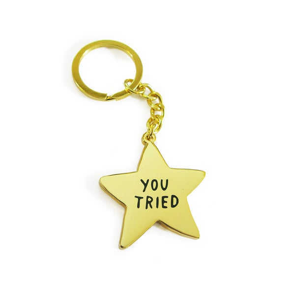 Image of YOU TRIED Keychain