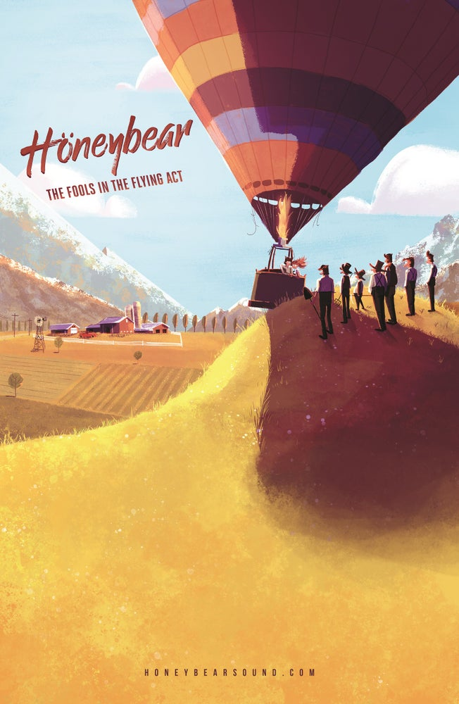 Image of Signed Höneybear Poster 11x17