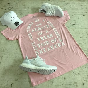 "Image of I AM A SNEAKERHEAD ""PINK, BLUE TINT, TAN, OR MINT"" T-SHIRT"