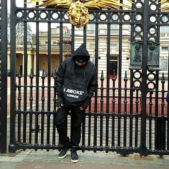 Image of I Awoke London Windbreaker