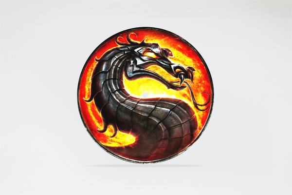 "Image of Mortal Kombat 7"" slipmat"