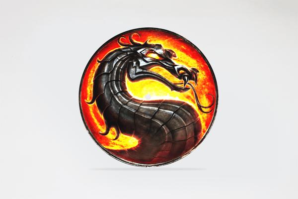 """Image of Mortal Kombat 7"""" slipmat"""