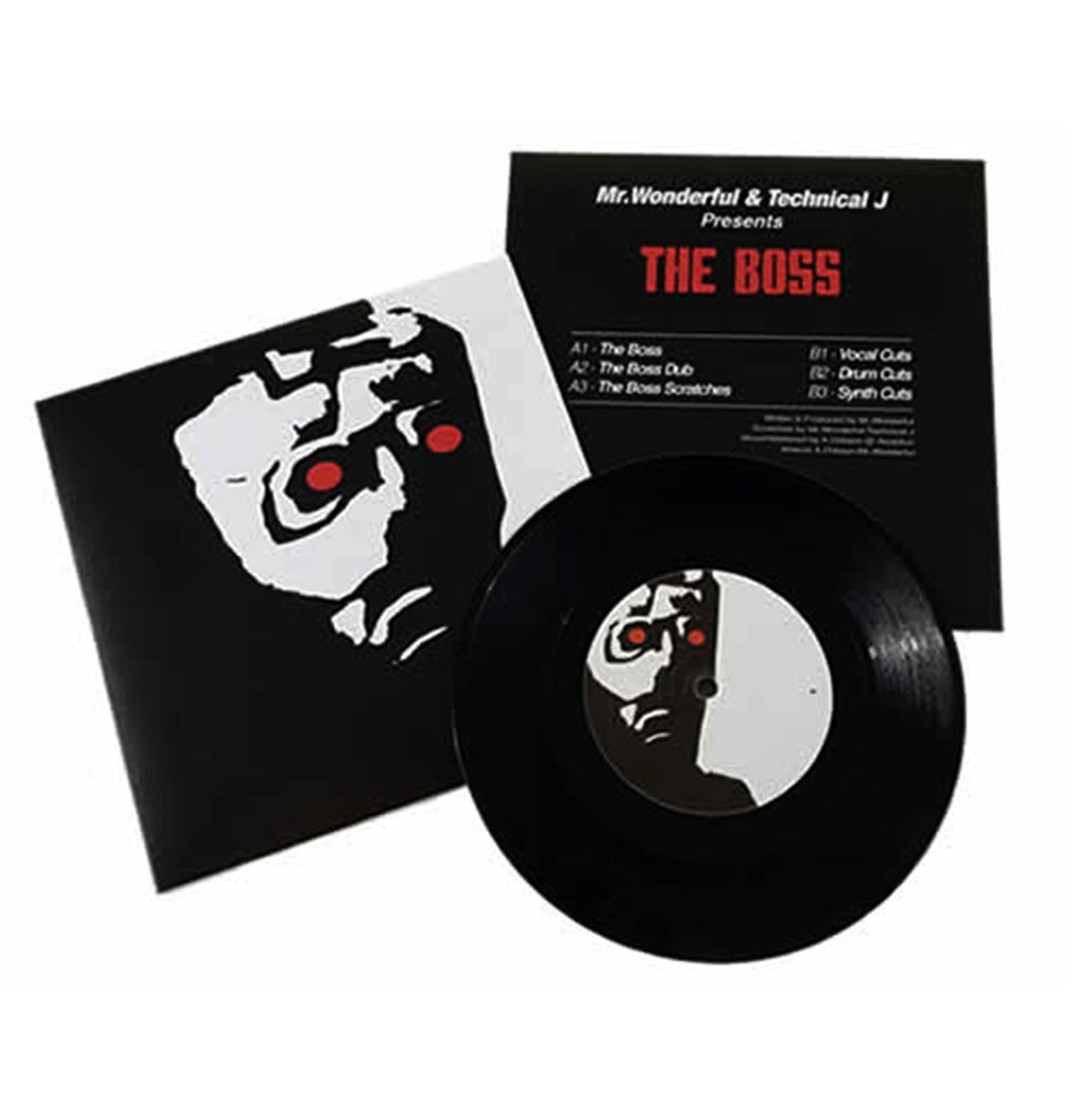 "Image of Rhythm Rollers The Boss - 7"" Vinyl"