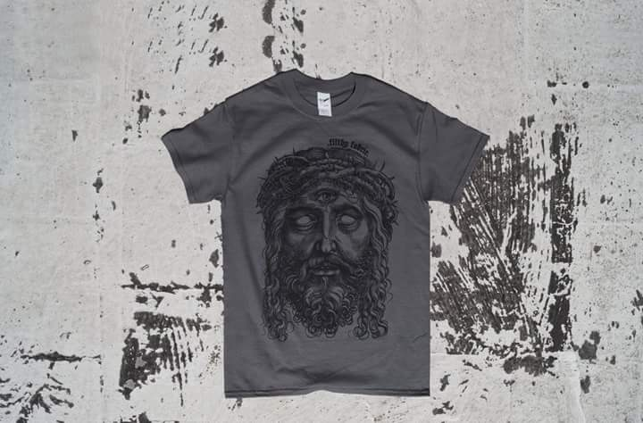 """Image of """"3rd Eye Blind"""" Charcoal Grey T-Shirt"""