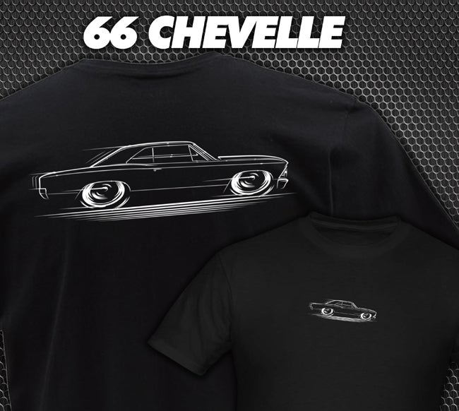 Image of '66 Chevelle T-Shirts Hoodies Banners