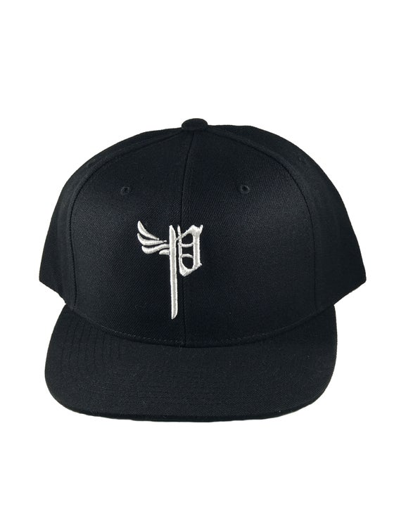 "Image of ""P Snap Back -Black"