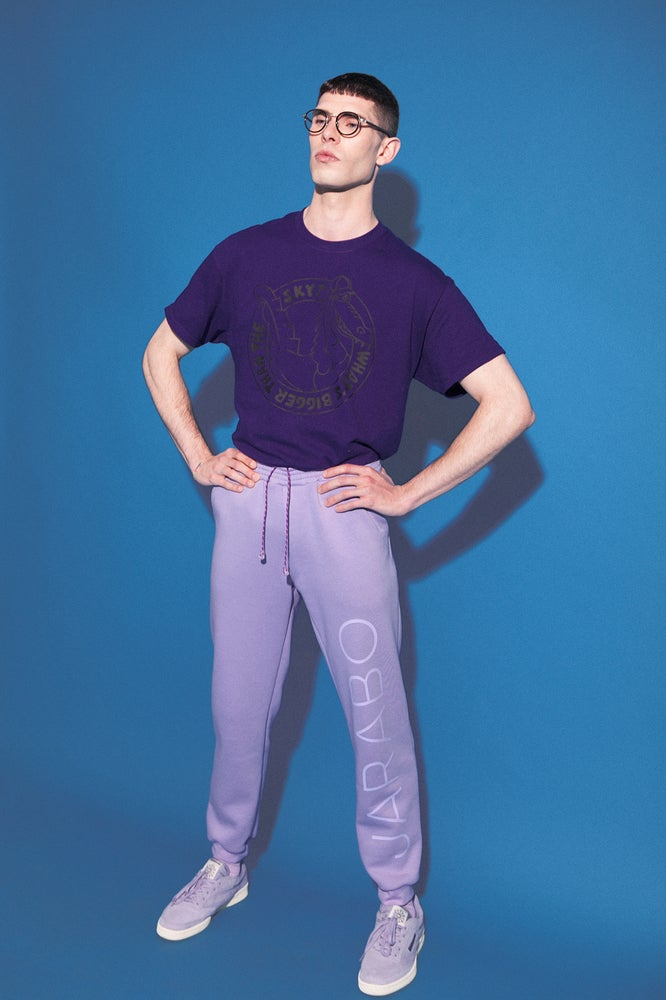 Image of lilac pants