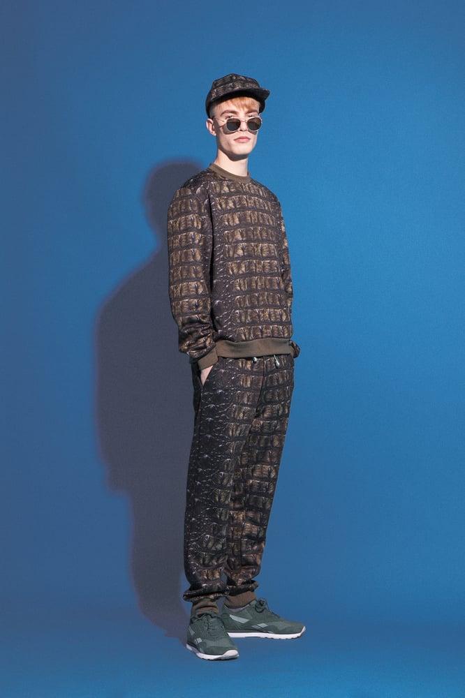 Image of crocodile sweatshirt