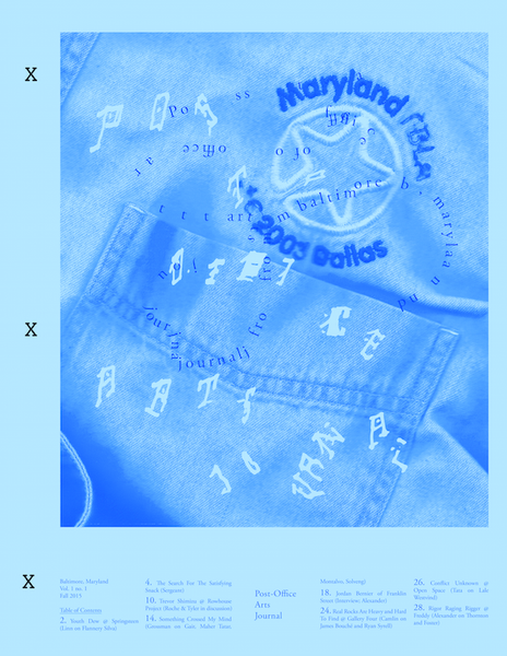 Image of Post-Office Vol. 1 No. 1