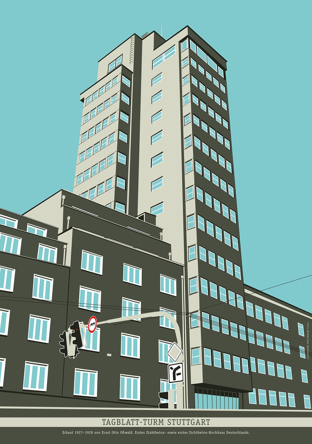 Image of Poster Tagblatt-Turm