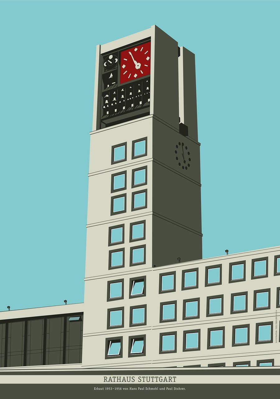 Image of Poster Rathaus-Turm