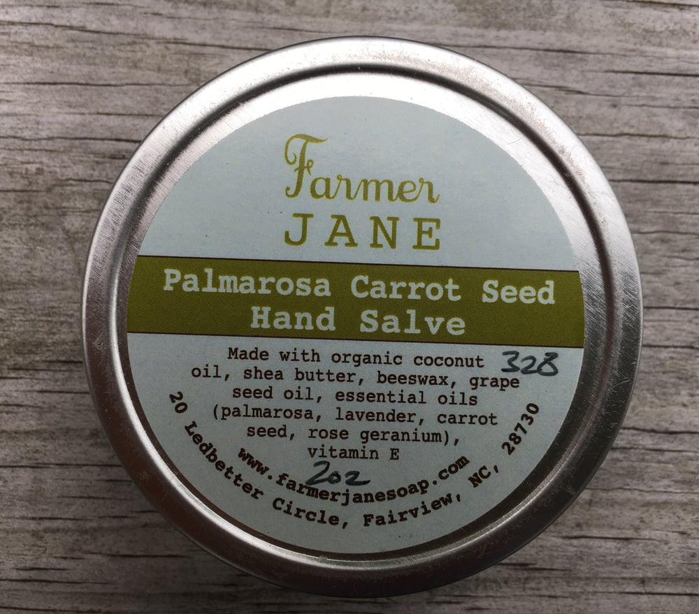 Image of Palmarosa Carrotseed Hand Salve