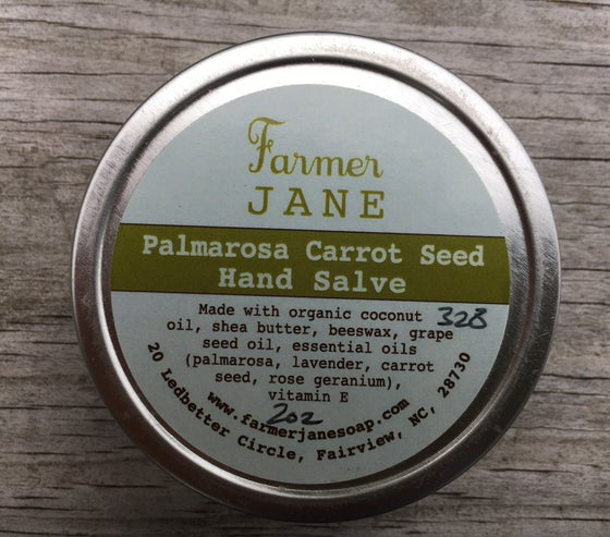 Image of Palmarosa Carrotseed Hand Salve