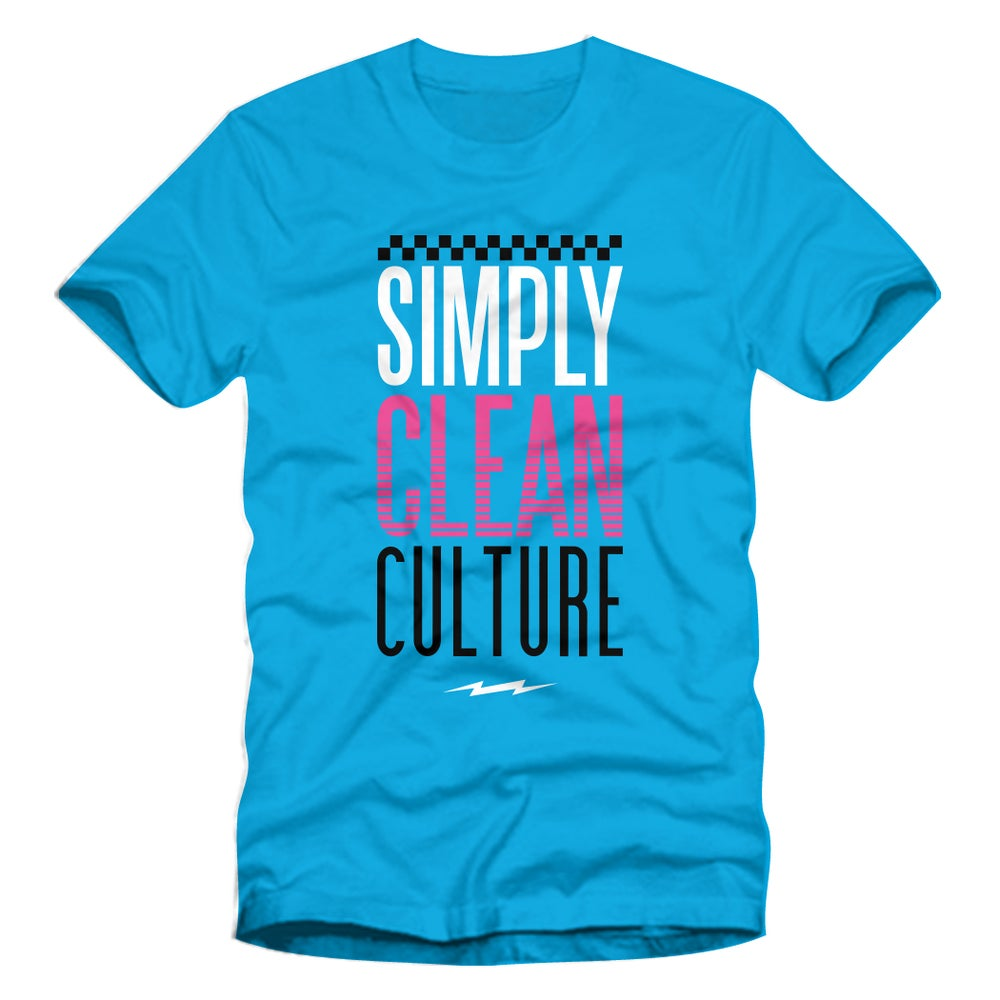 """Image of Unisex """"Culture"""" Tee... Turquoise"""