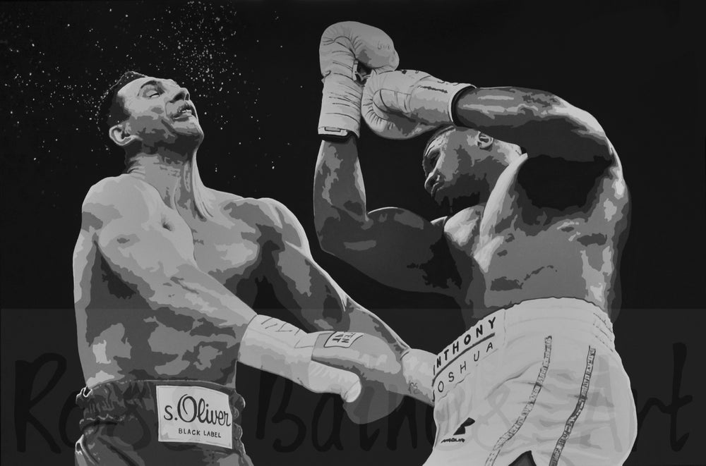 Image of 'UPPERCUT' (3x2ft canvas print)