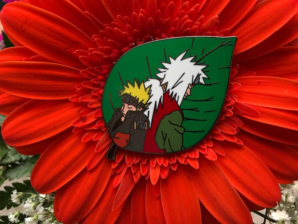 Image of Naruto and Jiraiya of the Hidden Leaf