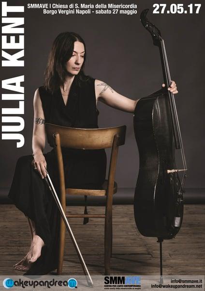 Image of Julia Kent @ Misericordiella concerto e visita