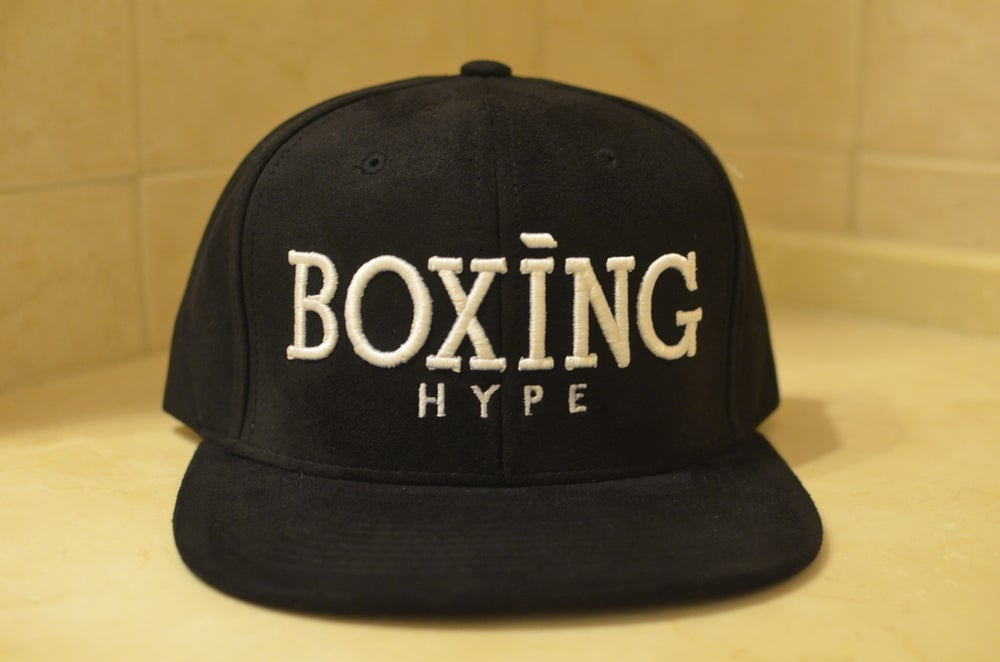 Image of Black SUEDE BoxingHype Snapbacks