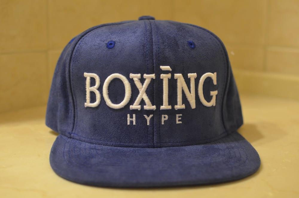 Image of Royal Blue Suede SnapBacks