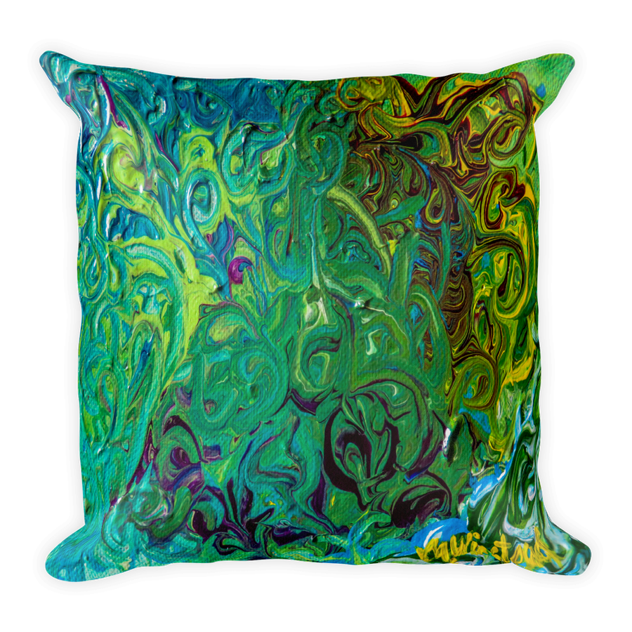 "Image of ""Manifesting Flow"" Pillow"
